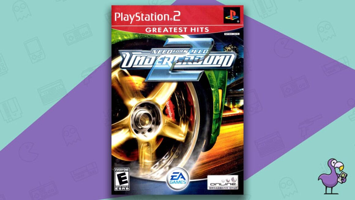 Best PS2 Racing Games - Need for Speed Underground 2 game case cover art