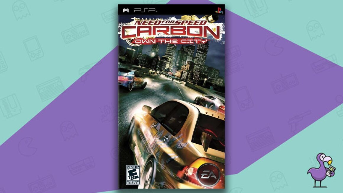 Best PSP racing games - Need for Speed Carbon - Own the City game case cover art