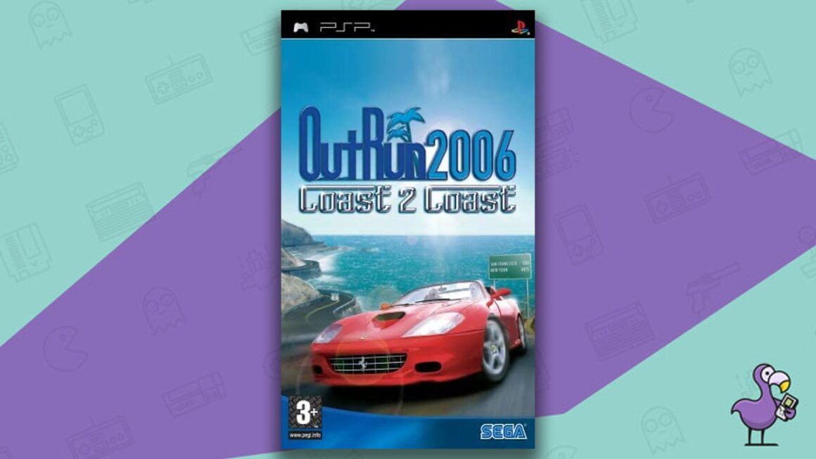 Best PSP racing games - OutRun 2006 Coast 2 Coast game case cover art