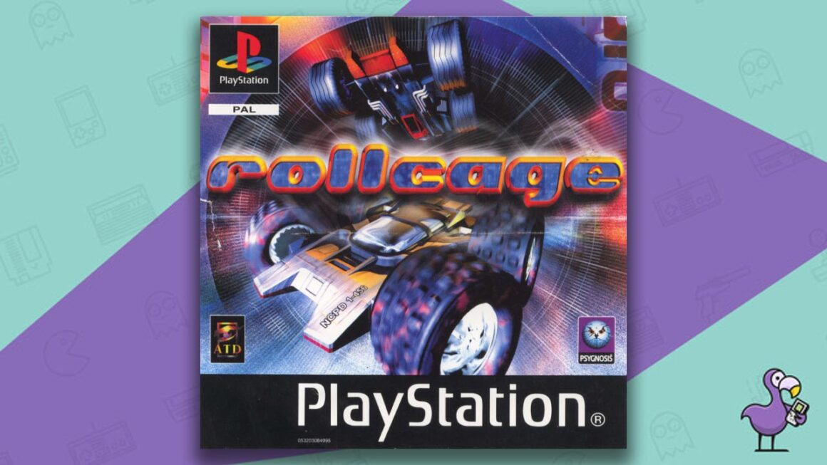 Best PS1 Racing Games - Rollcage game case cover art