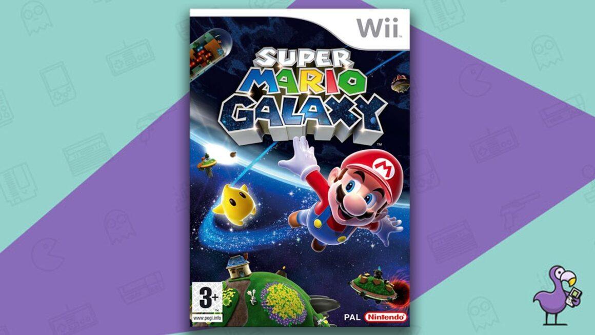 Rare Wii Games - Super Mario Galaxy game case 1st print cover art