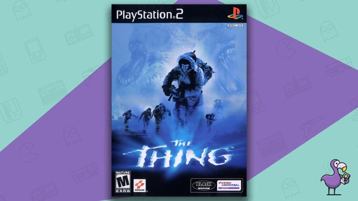 Underrated PS2 Games - The Thing game case cover art