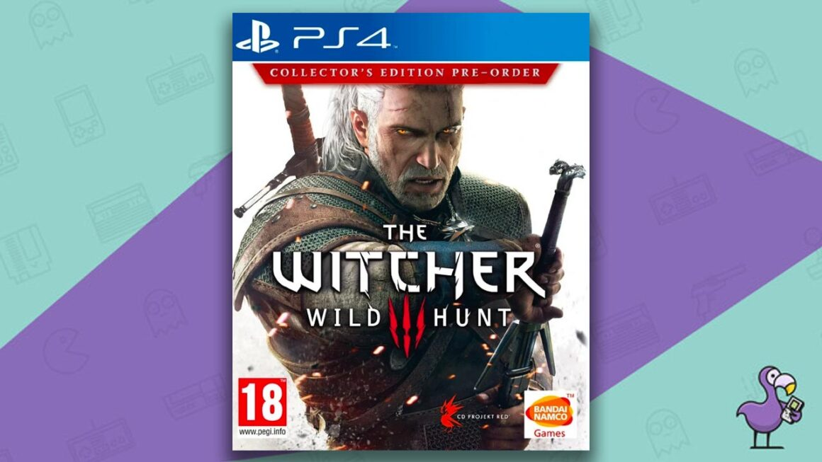 Best PS4 Games - The Witcher Wild Hunt game case cover art