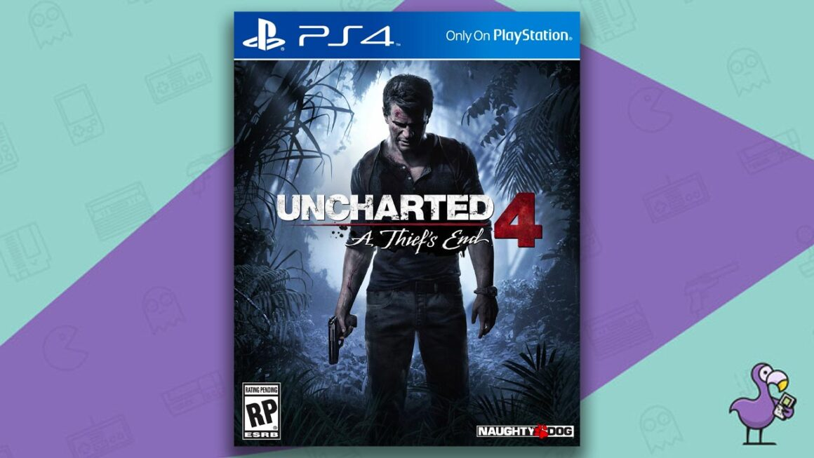 Best PS4 Games - Uncharted 4: A Thief's End game case cover art