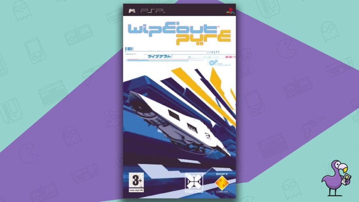 Best PSP racing games - Wipeout Pure game case cover art
