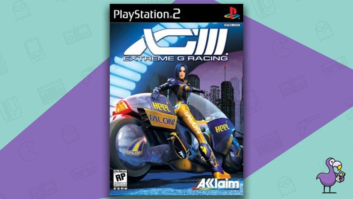 Best PS2 Racing Games - XGIII: Extreme G Racing game case cover art