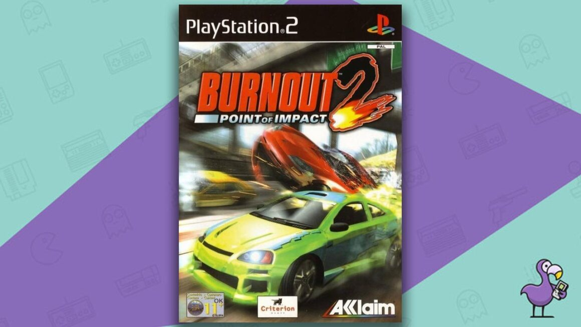 Best PS2 Racing Games - Burnout 2: Point of Impact game case cover art