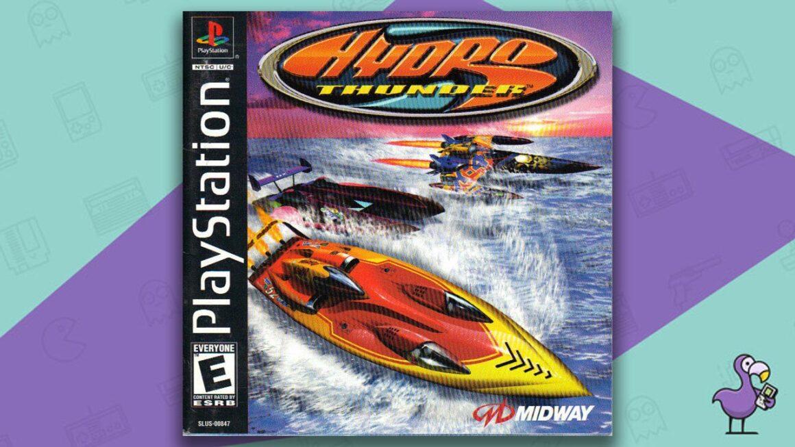 Best PS1 Racing Games - Hyrdo Thunder game case cover art