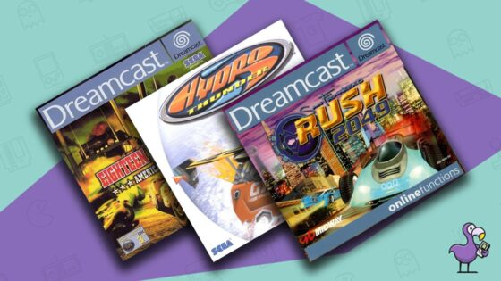 Best Dreamcast Racing Games Feature Retro Dodo