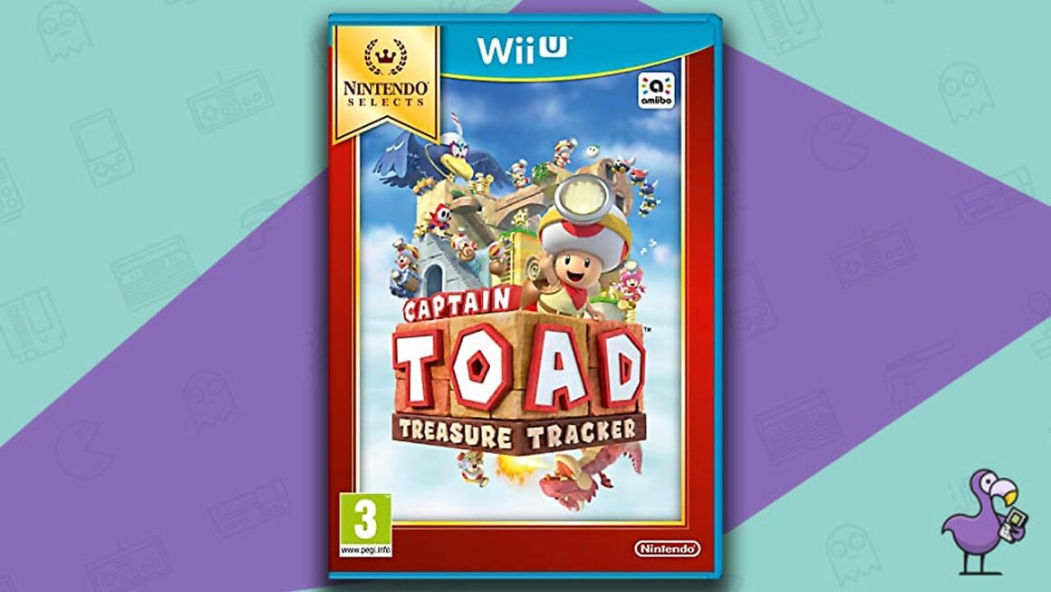 Best Wii U Games - Captain Toad: Treasure Tracker game case cover art