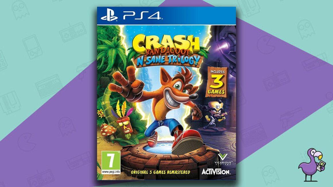 Best Retro Games - Crash Bandicoot N.Sane Trilogy Ps4 game case cover art
