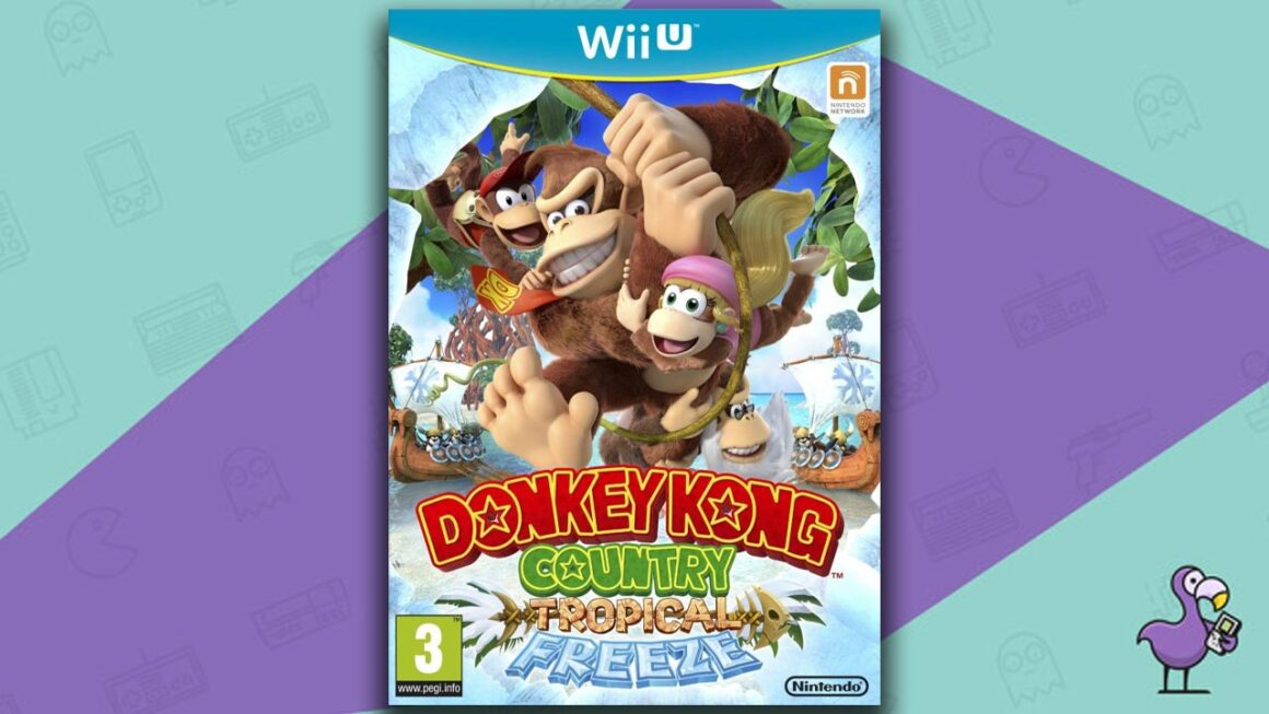 Best Wii U Games - Donkey Kong Country: Tropical Freeze game case cover art