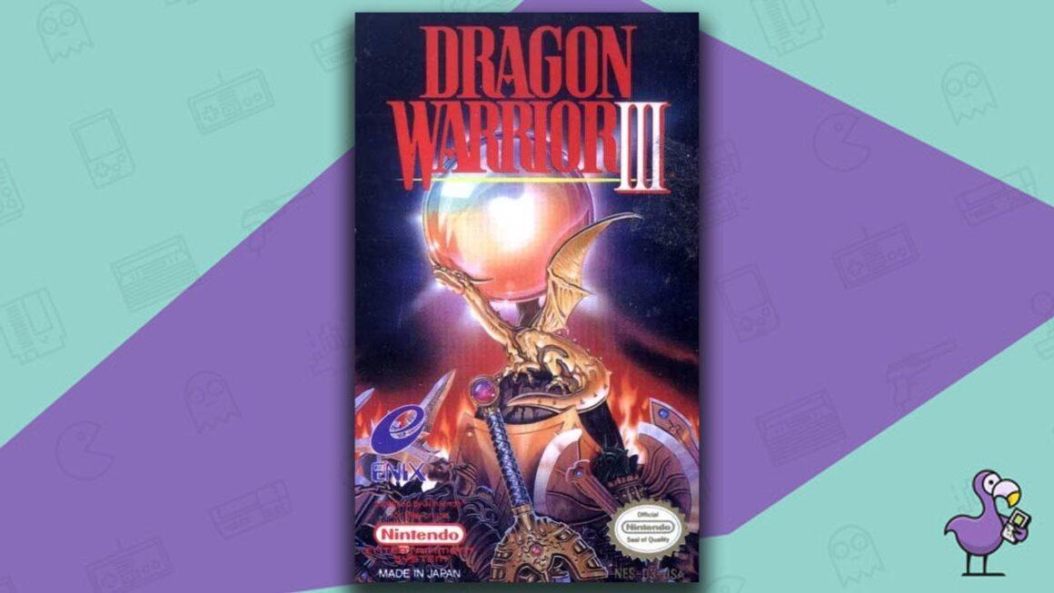 Best NES RPG Games - Dragon Warrior game case cover art
