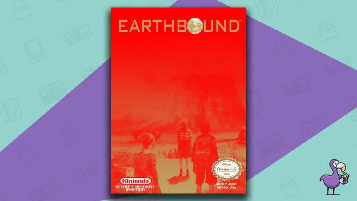 Best NES RPG Games - Earthbound Beginnings game case cover art
