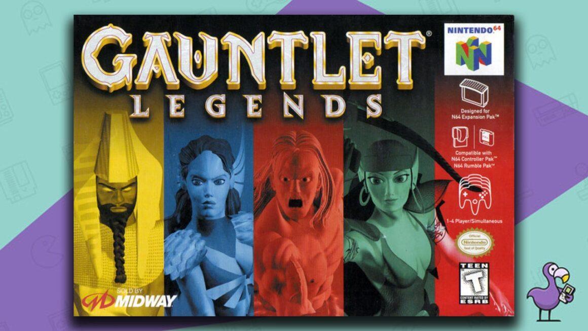 Best N64 RPG Games - Gauntlet Legends game case cover art