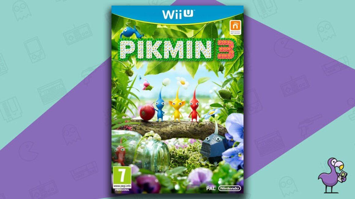 Best Wii U Games - Pikmin 3 game case cover art
