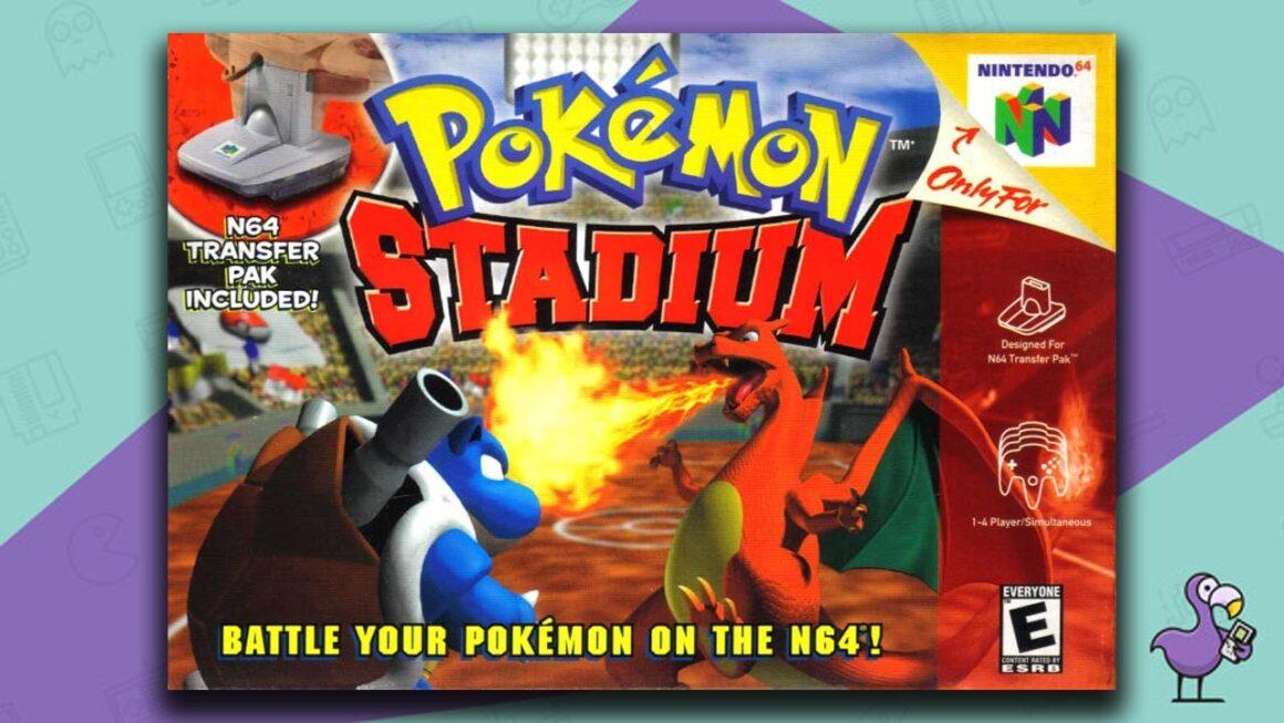 Best N64 RPG Games - Pokemon Stadium game case cover art