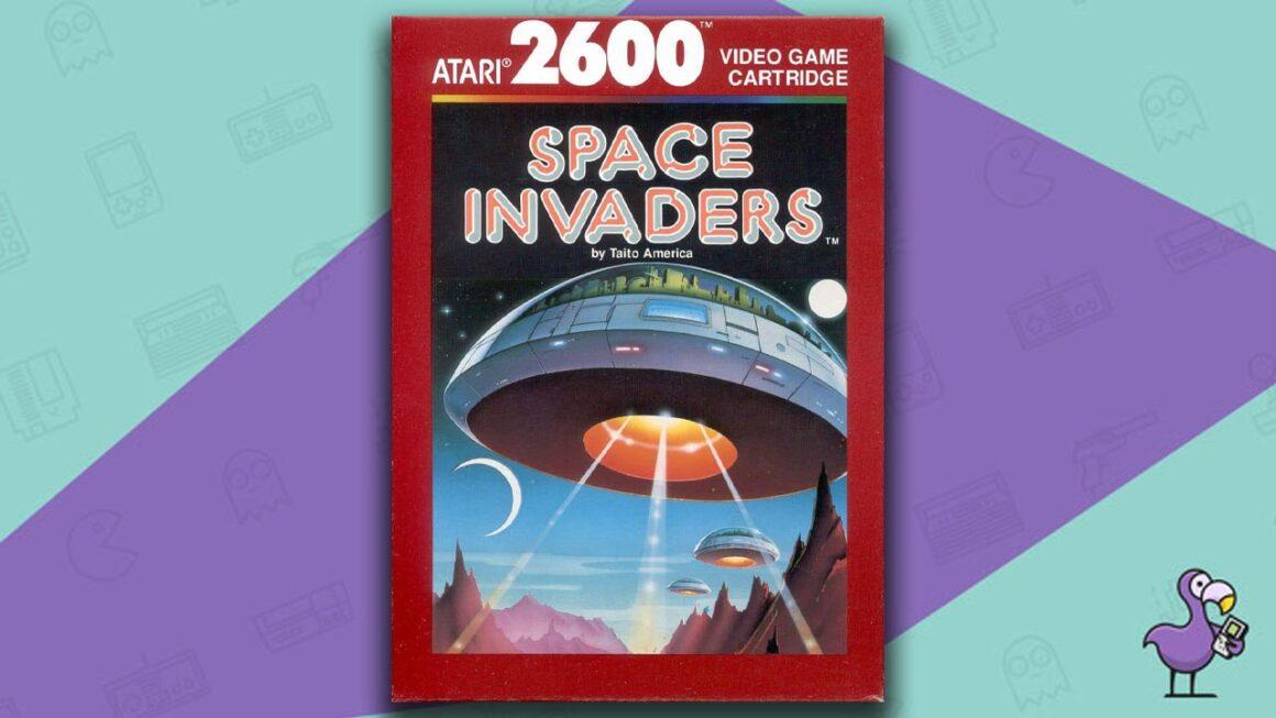 Best Retro Games - Space Invaders Atari 2600 game case cover art