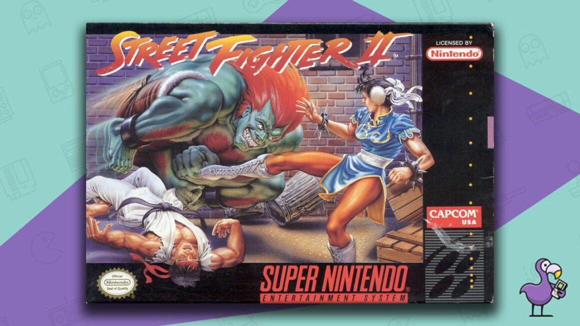 Best Retro Games - Street Fighter II: The World Warrior game case cover art