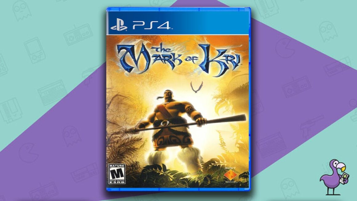 Best PS2 Games on PS4 - The Mark of Kri game case cover art