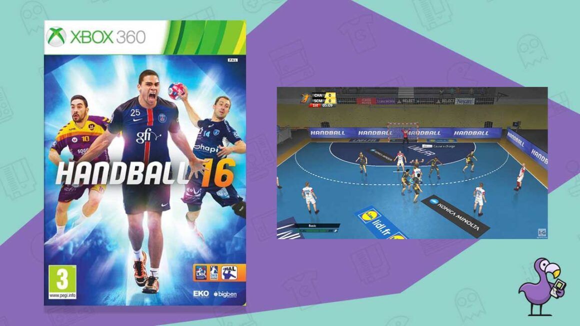 handball challenge 16 xbox 360
