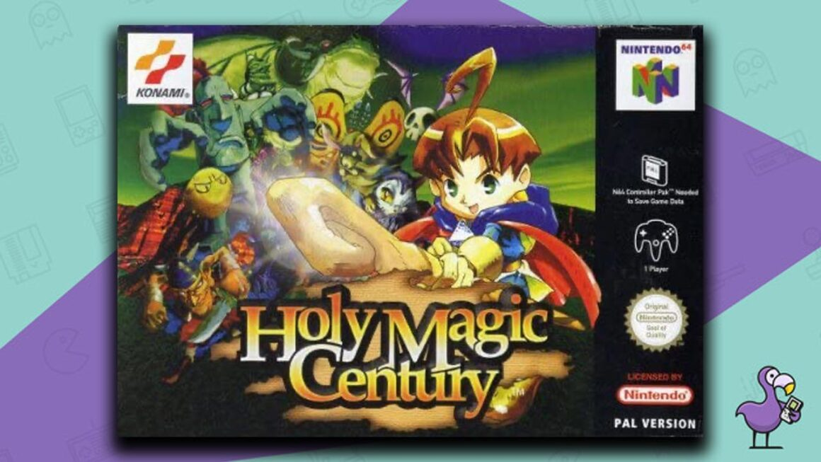 Best N64 RPG Games - Holy Magic Century game case cover art