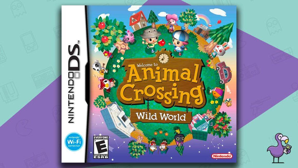 Best Nintendo DS Games - Animal Crossing Wild World game case cover art