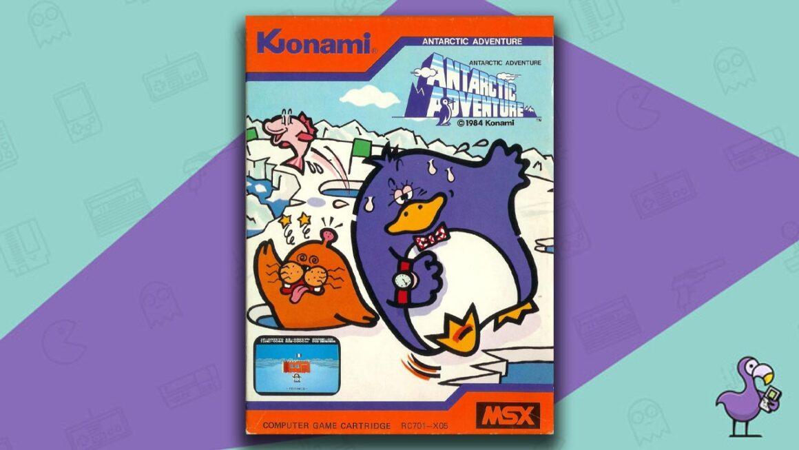Best MSX Games - Antarctic Adventure game case cover art