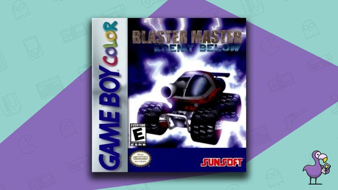 Best Gameboy Color Games - Blaster Master: Enemy Below Game Case Cover Art