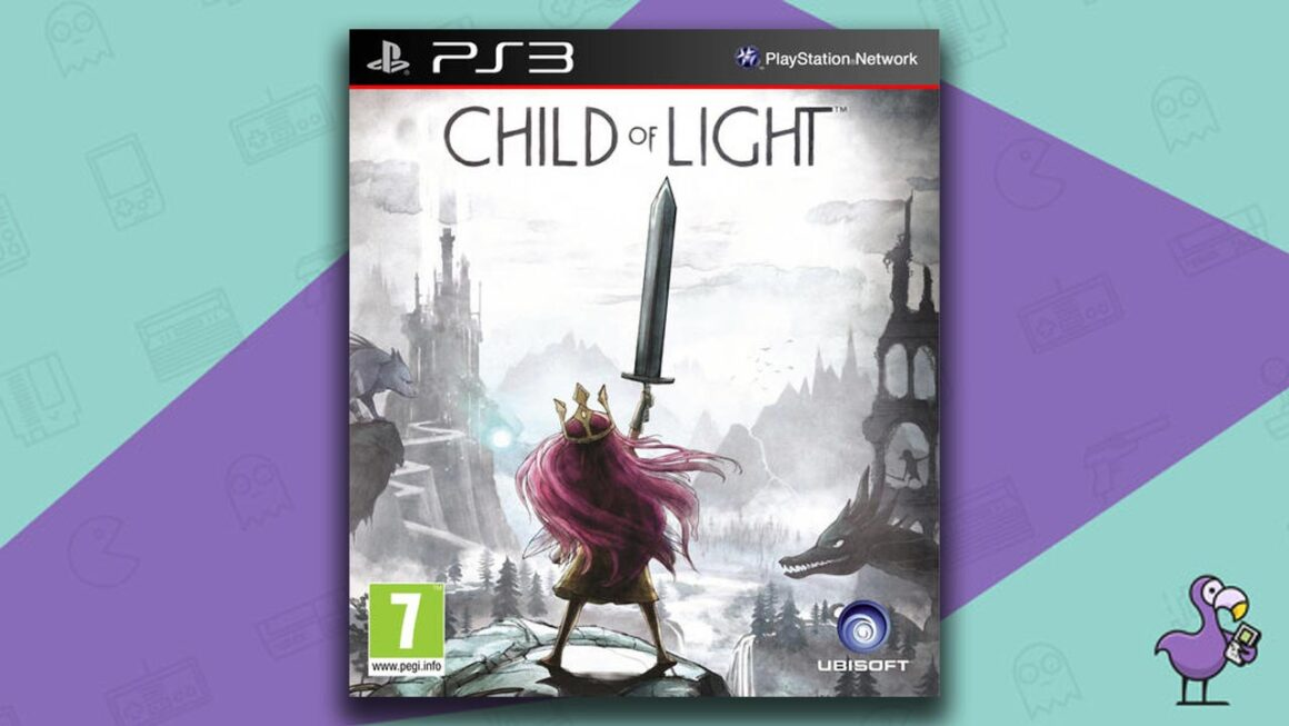Best PS3 RPG Games - Child of Light game case cover art