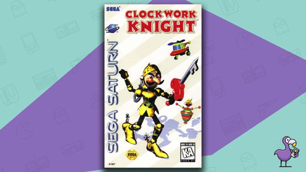 Best Sega Saturn Games - clockwork knight game case cover art