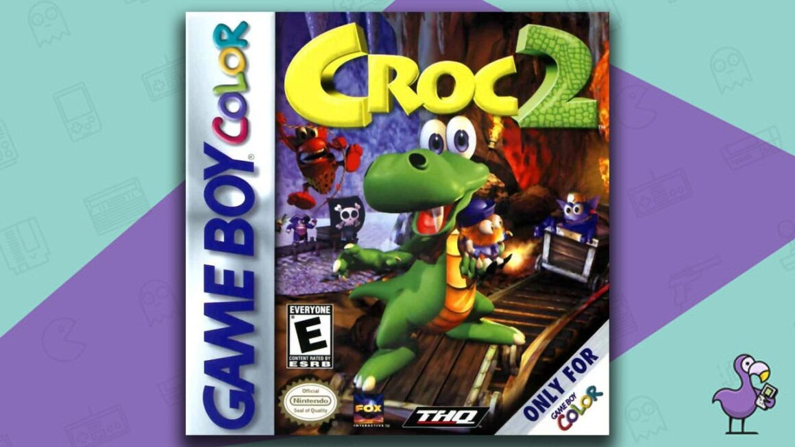 Best Gameboy Color Games - Croc 2 game case cover art