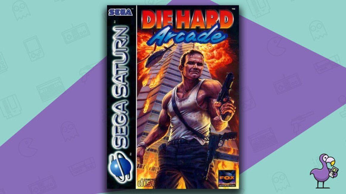 Best Sega Saturn Games - Die Hard Arcade game case cover art