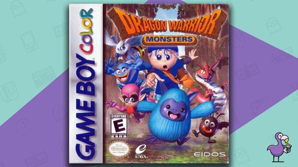 Best Gameboy Color Games - Dragon Warrior Monsters game case cover art