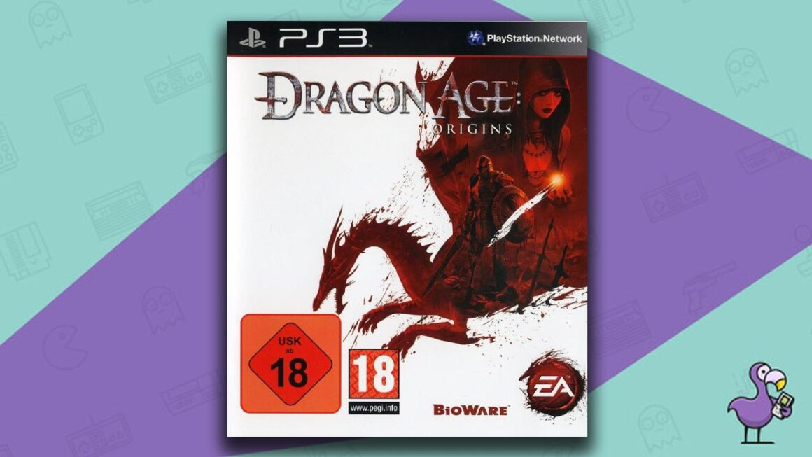 Best PS3 RPG Games - Dragon Age: Origins game case cover art
