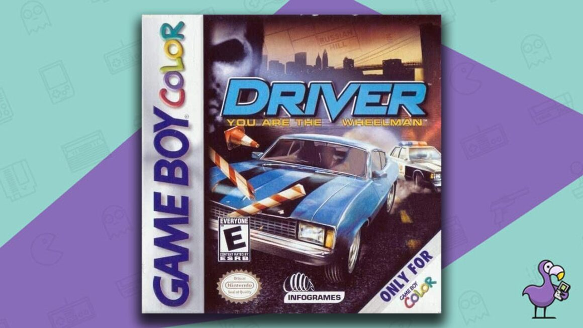 Best Gameboy Color Games - Driver game case cover art