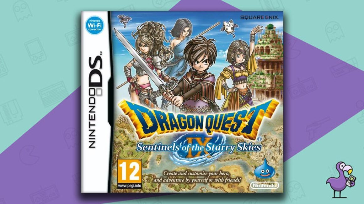 Best Nintendo DS Games - Dragon Quest IX: Sentinels of the Starry Skies