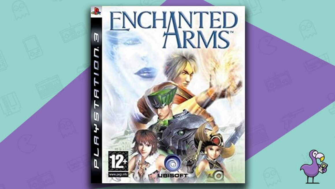 Best PS3 RPG Games - Enchanted Arms game case cover art