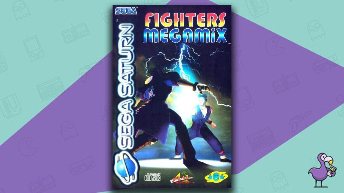 Best Sega Saturn Games - fighters mega mix game case cover art