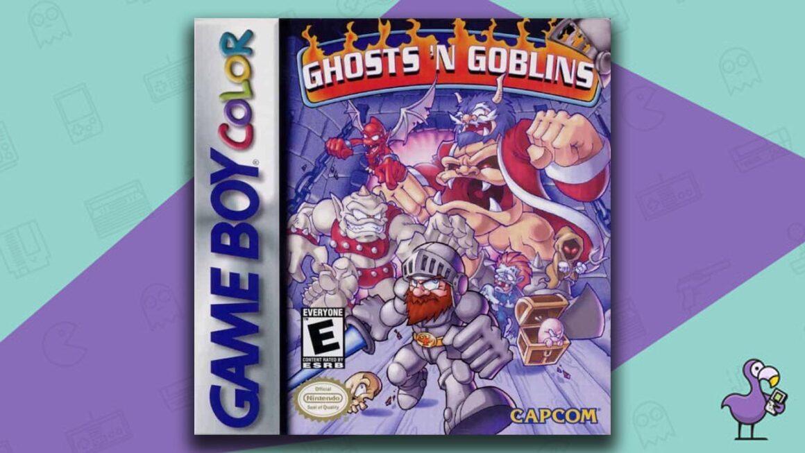 Best Gameboy Color Games - Ghost's n Goblins game case cover art
