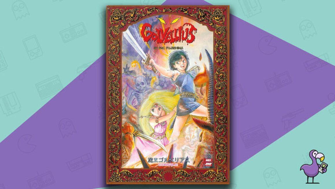 Best MSX Games - Golvellius game case cover art