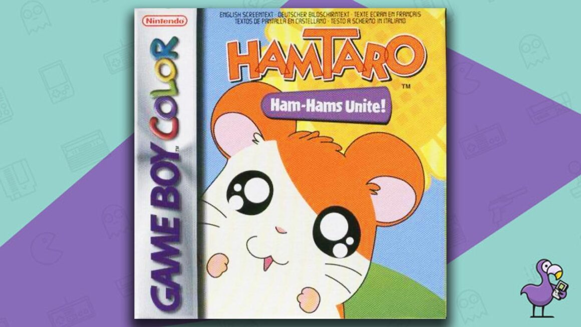Best Gameboy Color Games - Hamtaro Ham-Hams Unite! game case cover art
