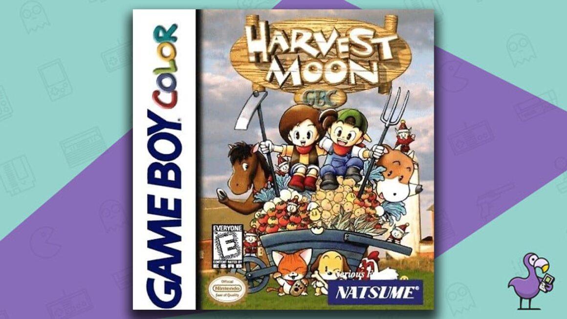 Best Gameboy Color Games - Harvest Moon GBC game case cover art