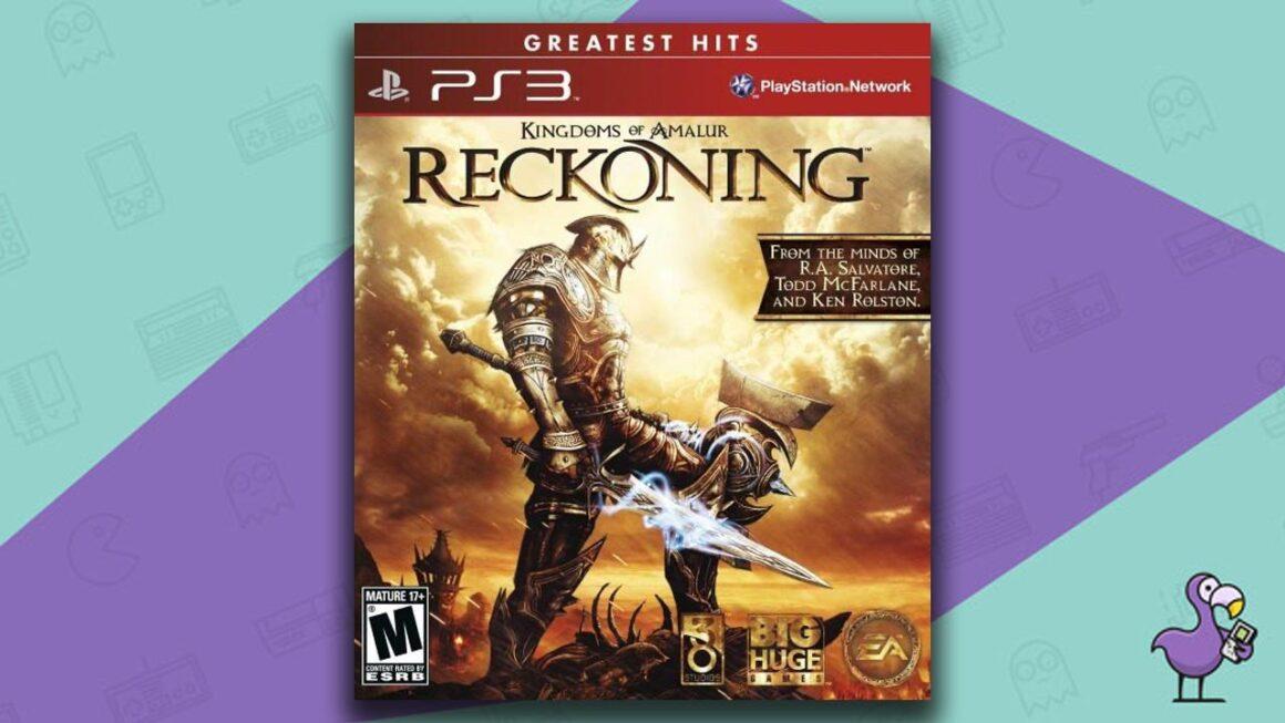 Best PS3 RPG Games - Kingdoms of Amalur: Reckoning game case cover art
