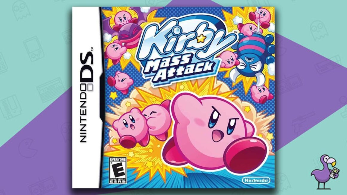 Best Nintendo DS Games - Kirby Mass Attack game case cover art