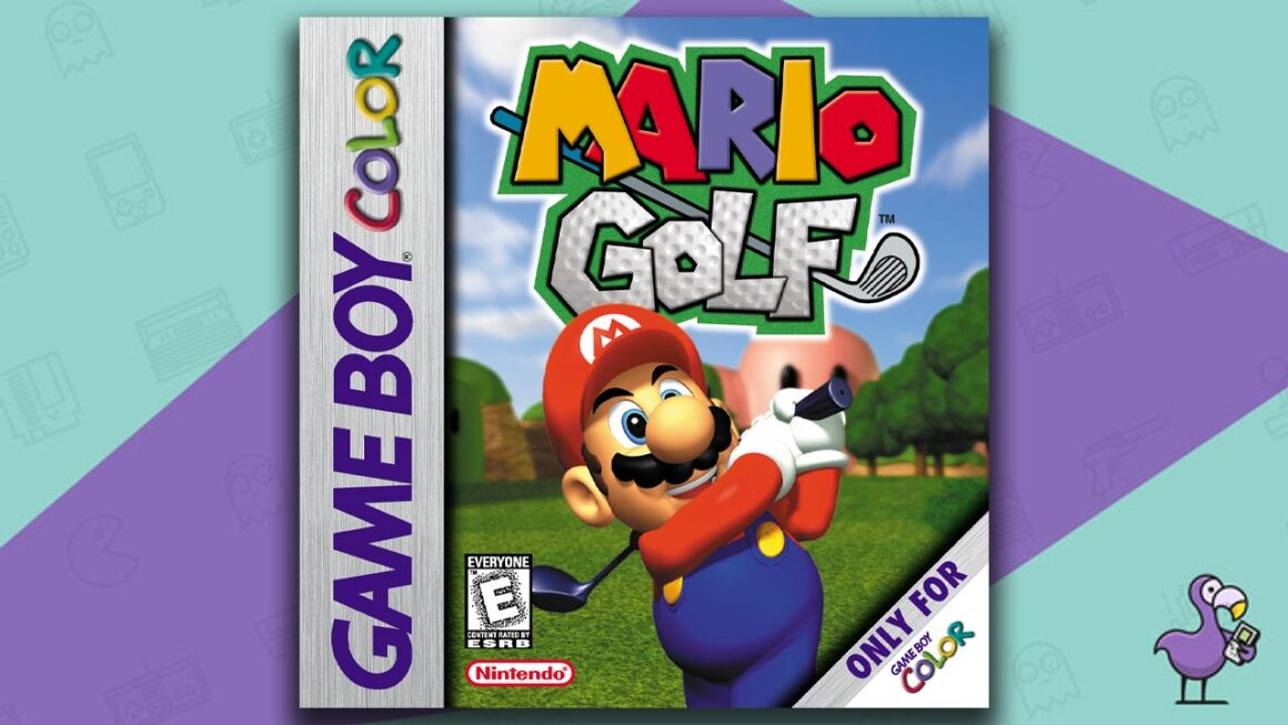 Best Gameboy Color Games - Mario Golf game case cover art