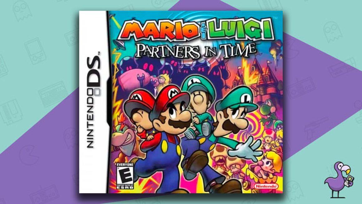 Best Nintendo DS Games - Mario & Luigi: Partners In Time game case cover art