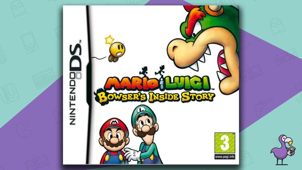 Best Nintendo DS Games - Mario & Luigi: Bowser's Inside Story game case cover art