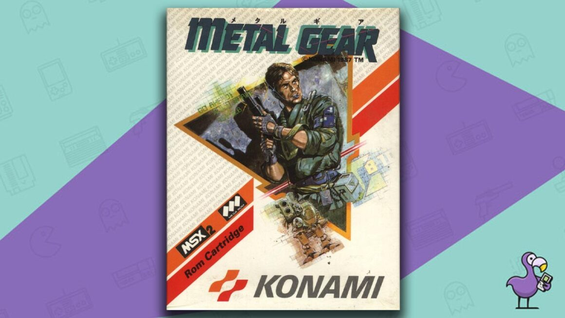Best MSX Games - Metal Gear game case cover art
