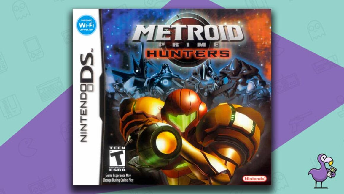 Best Nintendo DS Games - Metroid Prime Hunters game case cover art